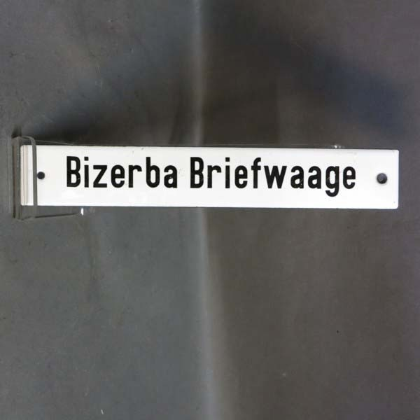 "Advertising tin ""Bizerba..."