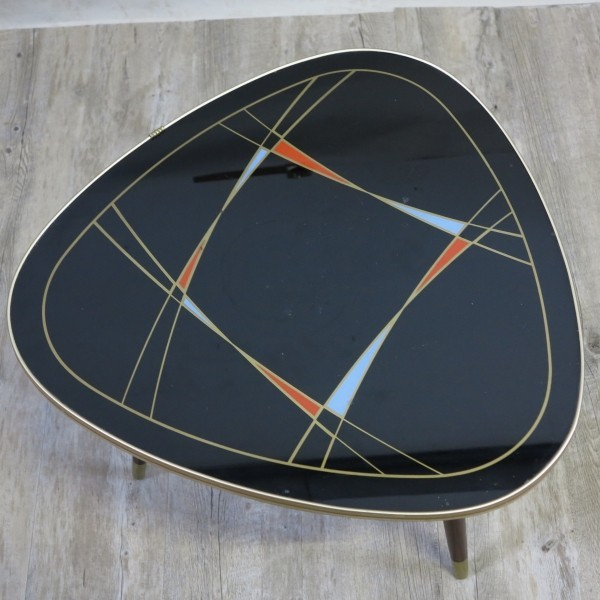 Triangular vintage shaped...