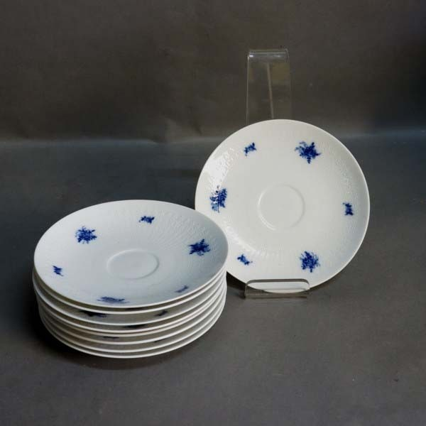 Nine porcelain plates for...