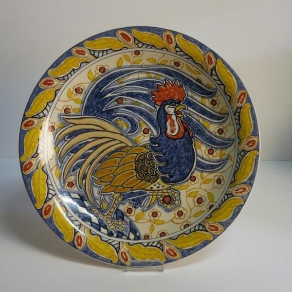 Ceramic wall plate. Süs....