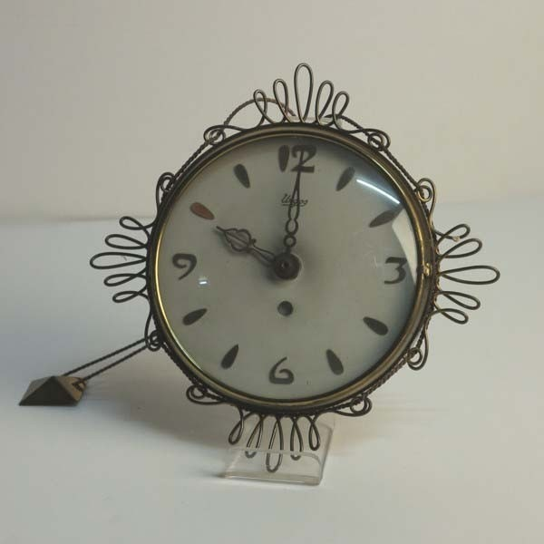 Vintage sunburst clock....