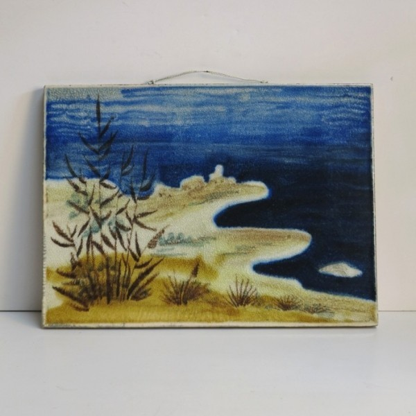"Vintage wall tile ""Bay""...."