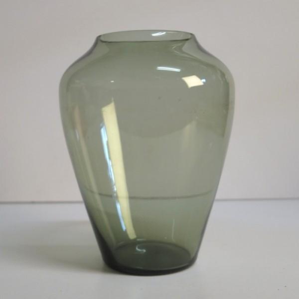 Glass vase, designed by...
