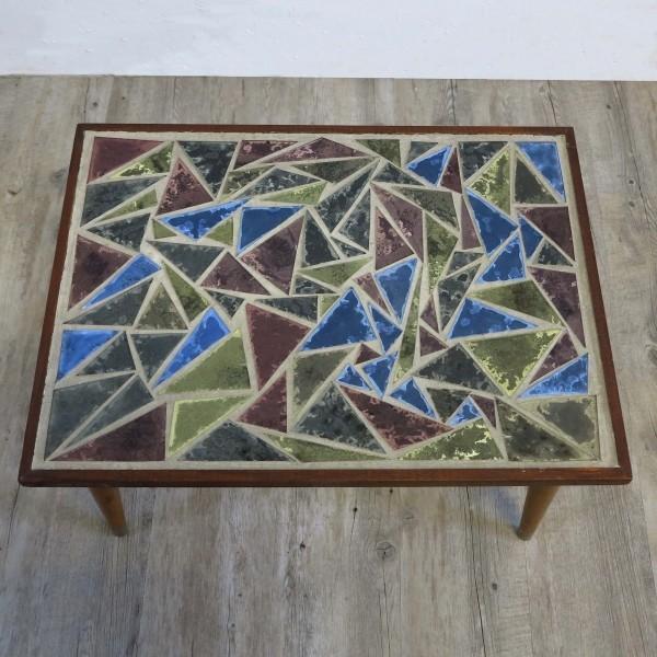 Vintage mosaic table....