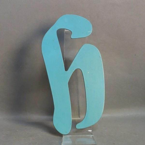 Vintage sign letter - h -...