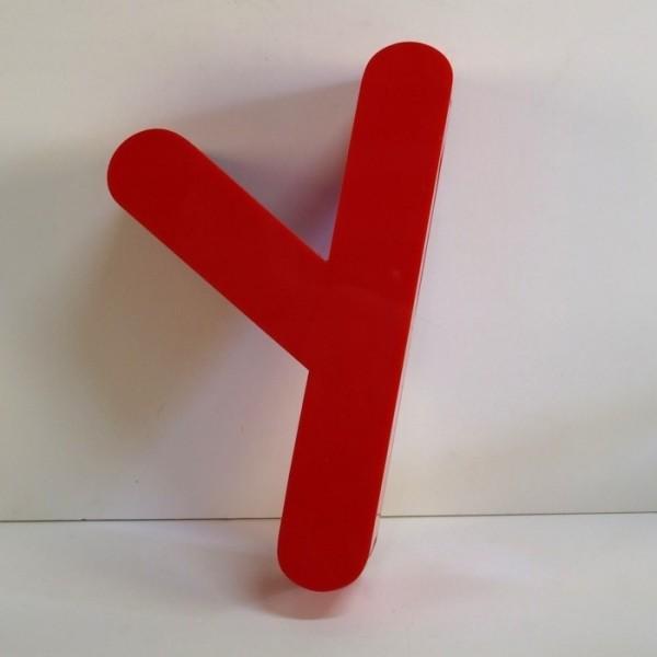 Vintage sign letter - y -...