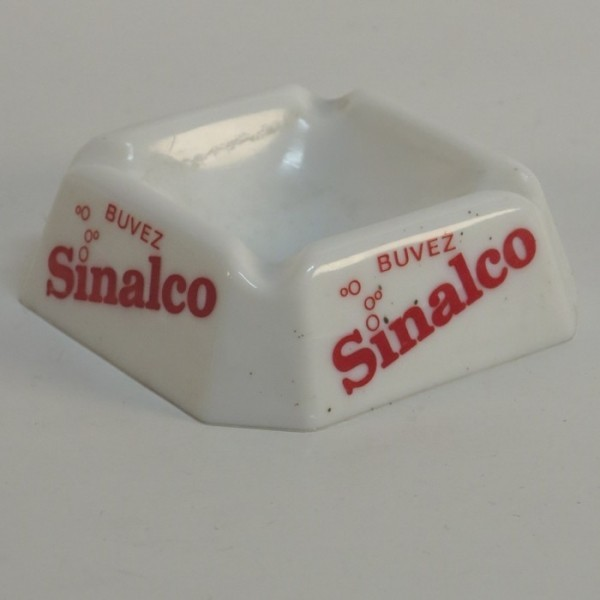 Sinalco advertising glass...