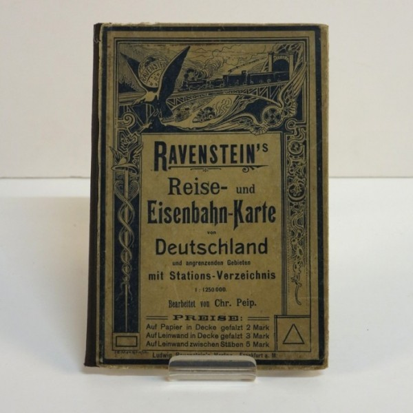 Ravenstein´s railroad map...
