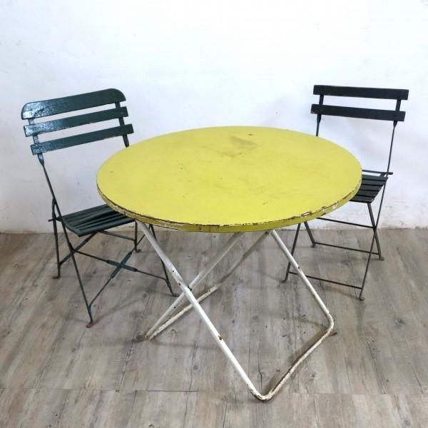 Iron Garden Table. Germany...