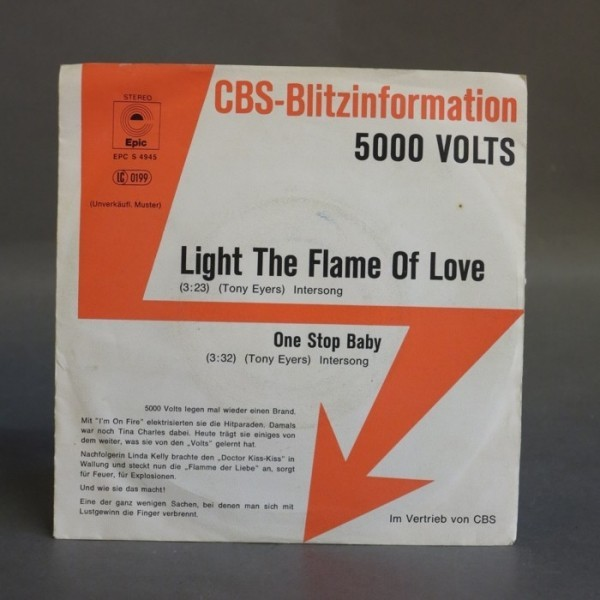 Single. 5000 Volts - Light...