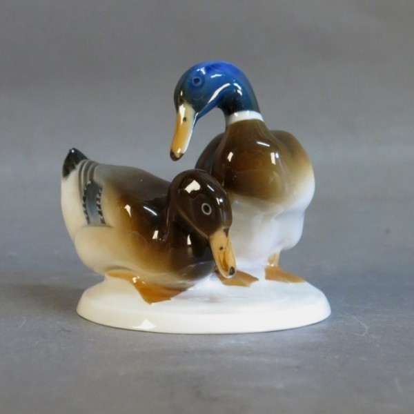 Porcelain duck figurine....