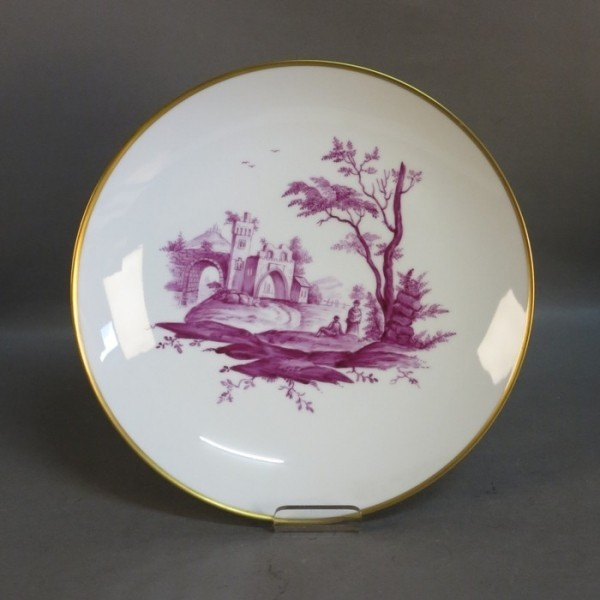 Porcelain plate handpainted...