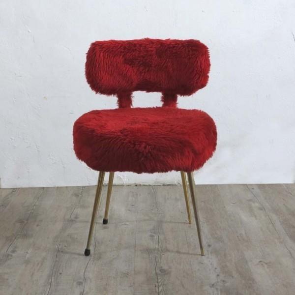 Vintage plush chair....