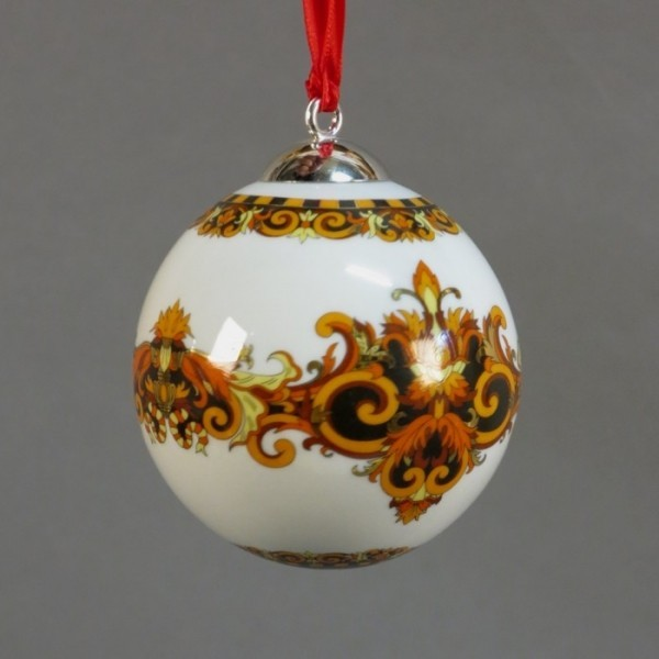 Christmas porcelain bauble....