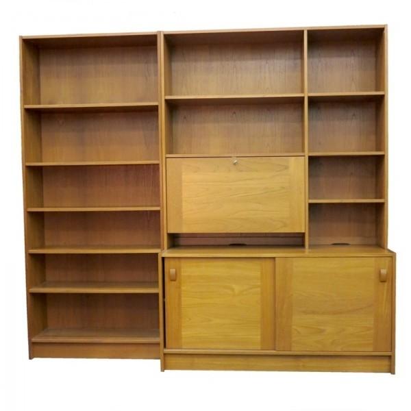 Danish Modern, cabinet and...