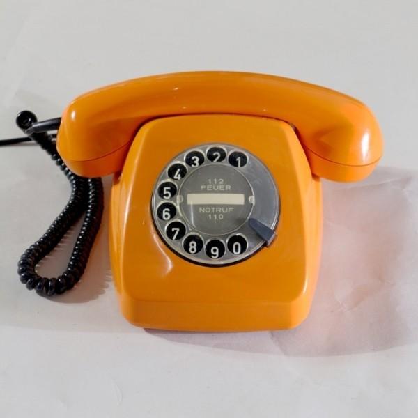 Vintage telephone, 1977.