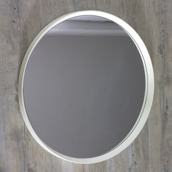 Wall mirror with plastic...