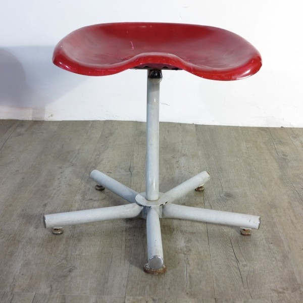 Industrial stool with...