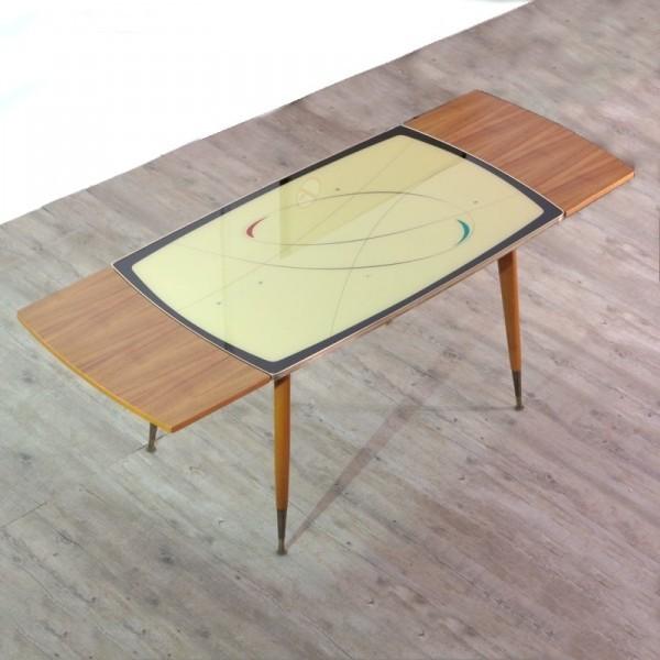 Ausziehbarer Tisch mit...