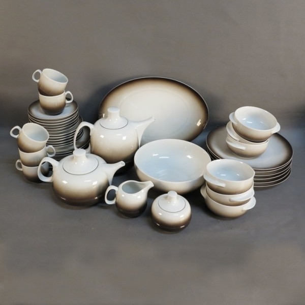 Porcelain coffee service...