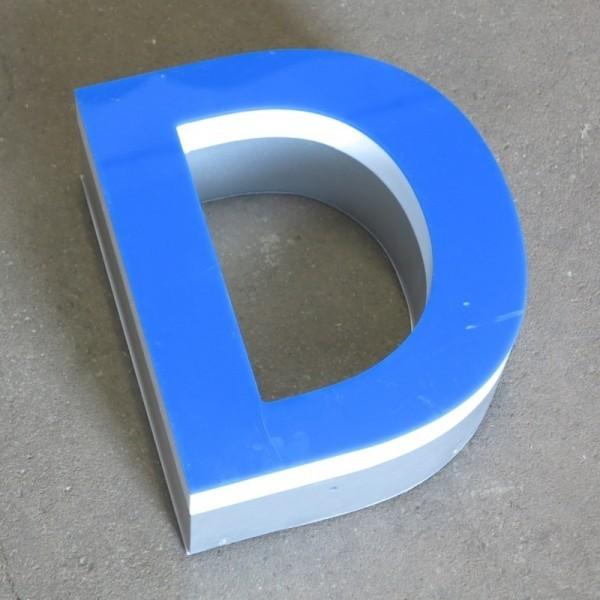 Big vintage sign letter - D...