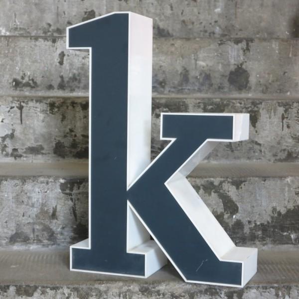 Big vintage sign letter - k...