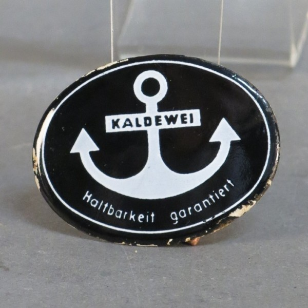 "Advertising sign ""Kaldewei""..."