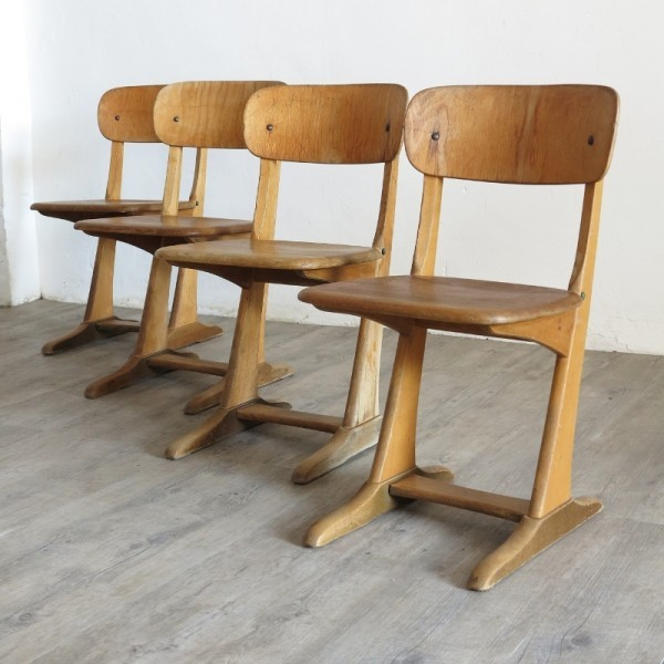 Casala wood school chair....