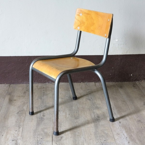 School chair in the style...