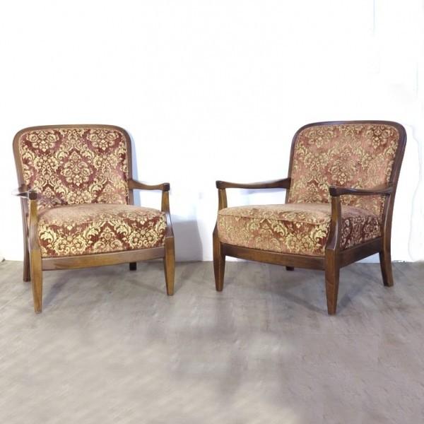 Dos silla con brazos de...