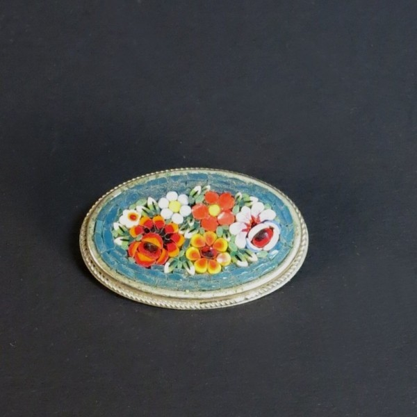 "Antique ""Millefiori""brooch...."