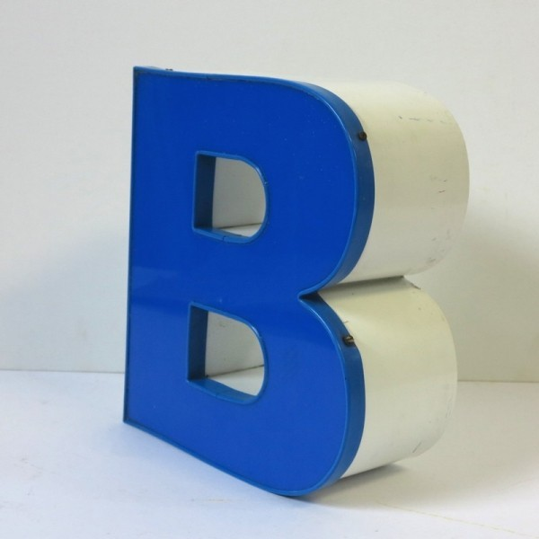 Vintage. Buchstabe - B -...