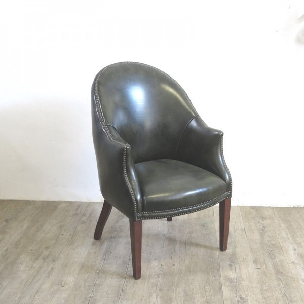 English Leather Armchair....