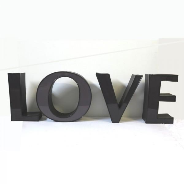 Vintage sign letters - LOVE...