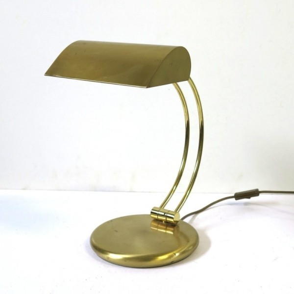 Brass Vintage Desk Lamp....