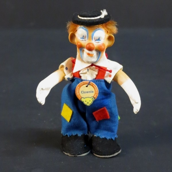 "Steiff Clown ""Clownie"" mit..."