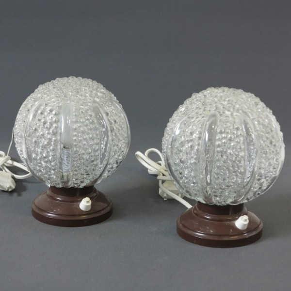 Two vintage table lamps...