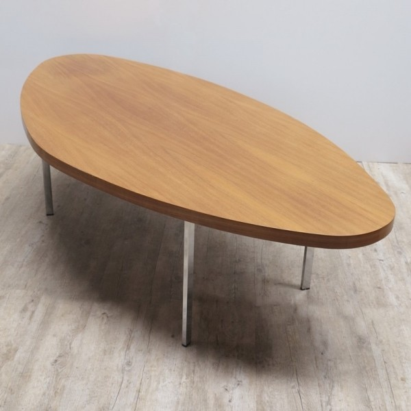 Oval Vintage Table. 1950 -...