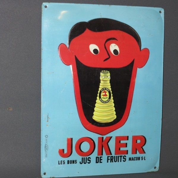 "Advertising sign ""Joker""...."