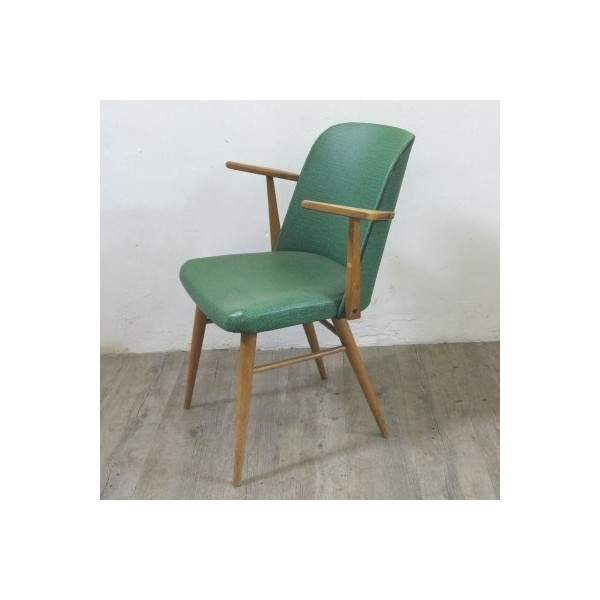 Green vintage armchair....