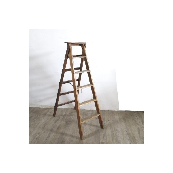 Industrial wooden ladder....