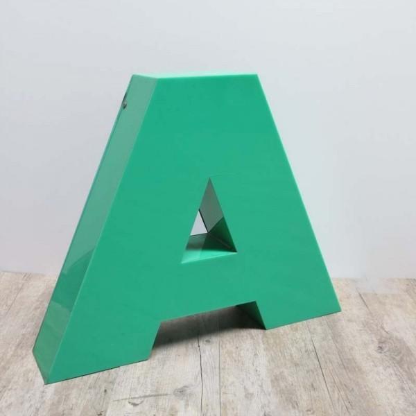 Vintage sign letter - A -...
