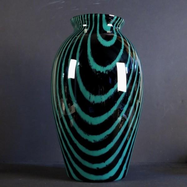 Grosse Glasvase von Peil &...