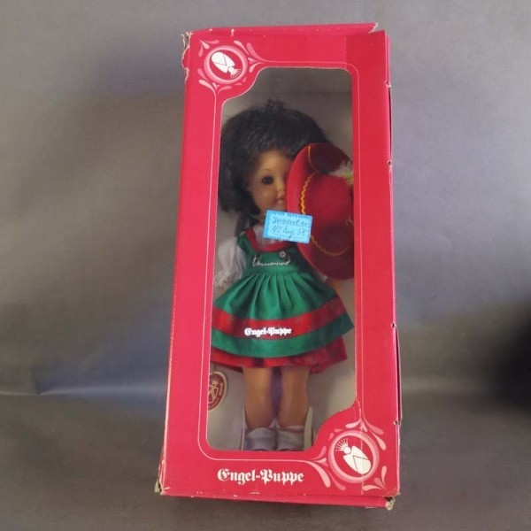 Mint in box. Engel doll....