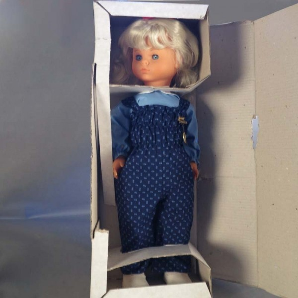 Mint in box. Zapf doll....