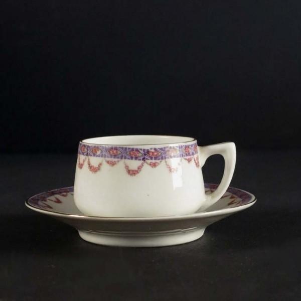 Art Nouveau. Porcelain...