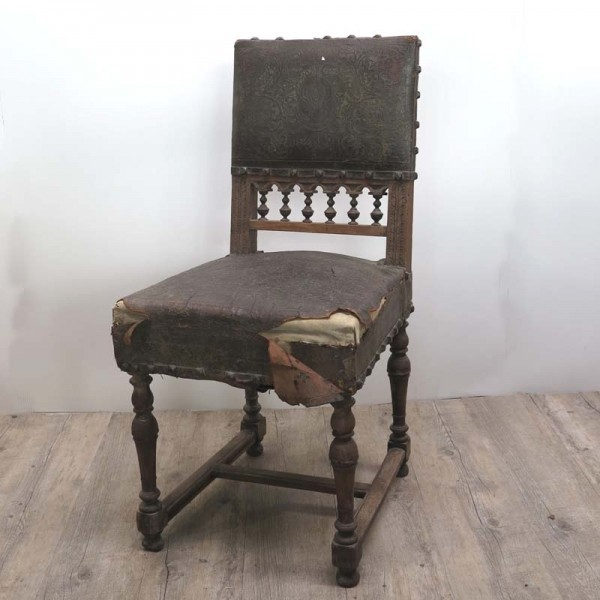 Antique historicism chair...