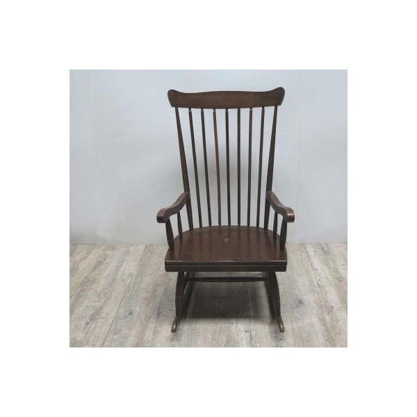 Vintage wood rocking chair....