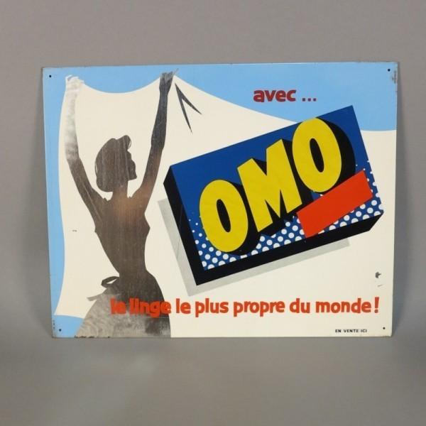 Blechschild OMO. Frankreich...