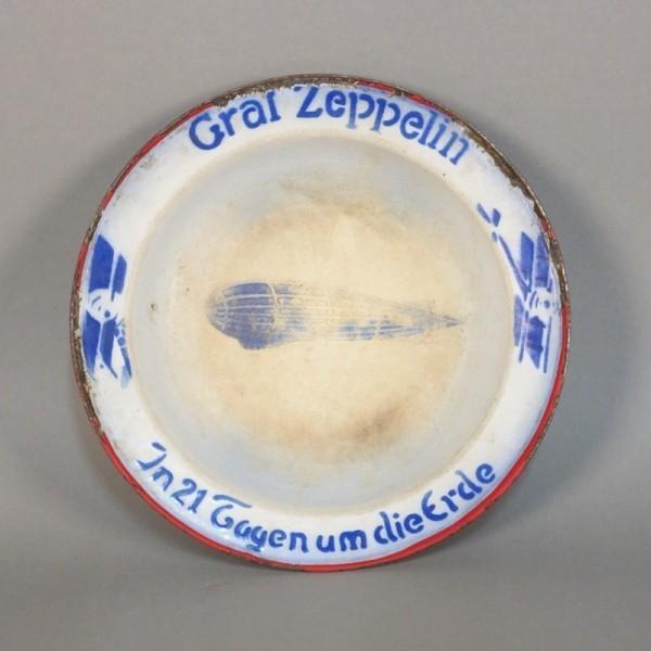 Enamel plate from Graf...